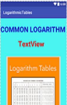 Logarithms apk screenshot