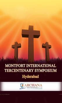 Montfort Tercentenary poster