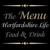 Hertfordshire Life - The Menu icon