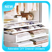 Adorable DIY Drawer Dividers icon