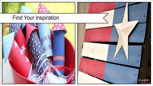 Creative DIY Patriotic Decorations poster