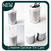 Creative Upcycle Tin Cans icon