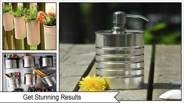 Creative Upcycle Tin Cans screenshot 1