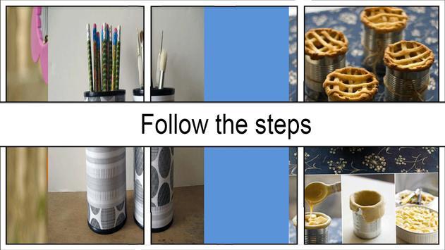 Creative Upcycle Tin Cans screenshot 2