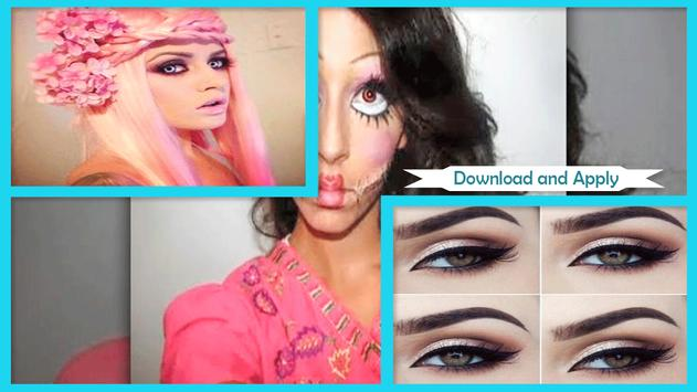 Cute Simple Barbie Makeup screenshot 2