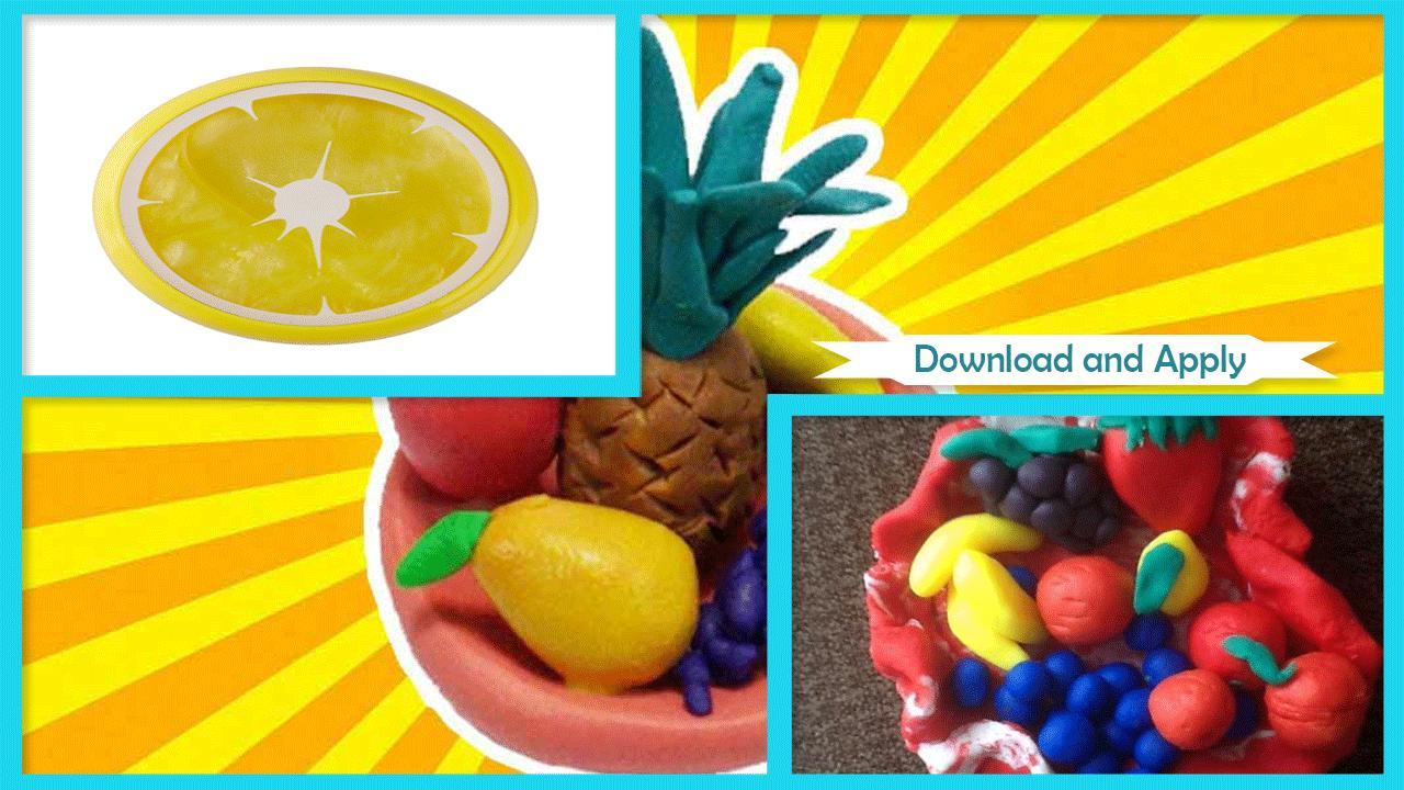 DIY Fruity Play Dough poster