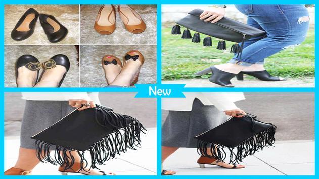 Easy DIY Fringe Shoes And Clutch screenshot 3