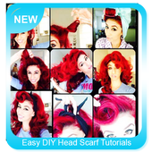 Easy DIY Head Scarf Tutorials icon