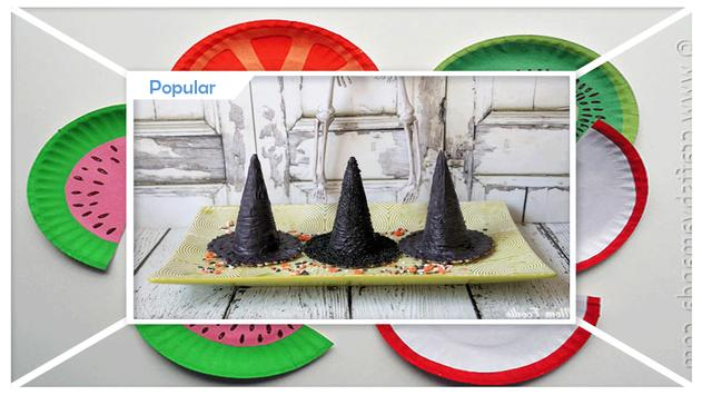 Simple DIY Mini Edible Party Hats apk screenshot