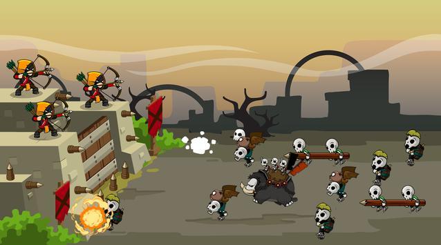 Archery Castle Defense screenshot 2