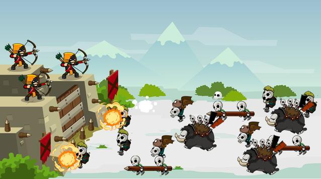 Archery Castle Defense screenshot 4