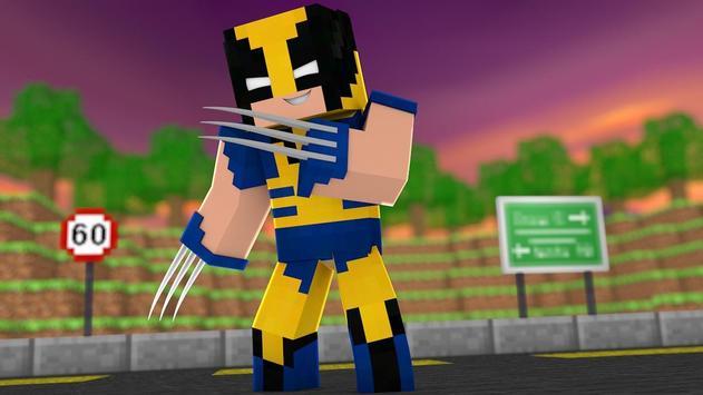 Wolverine MCPE MOD apk screenshot