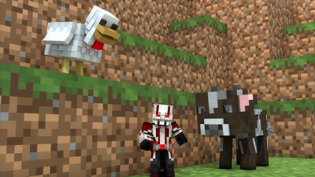 Ant Hero MCPE Addon apk screenshot