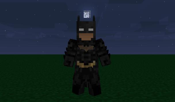 Bat Hero MCPE MOD poster