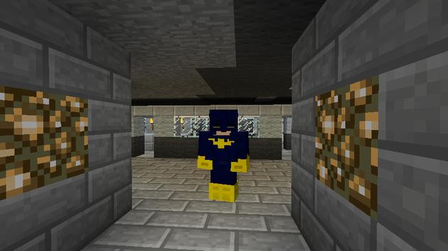 Bat Hero MCPE MOD apk screenshot
