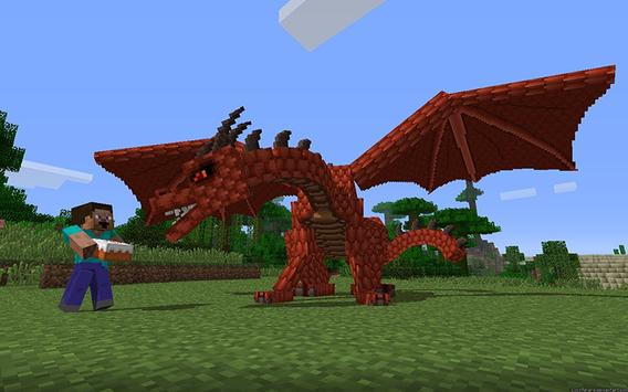 Dragon Mounts MCPE MOD poster