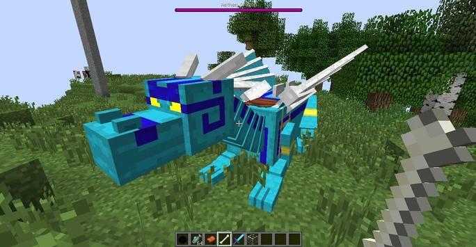 Dragon Mounts MCPE MOD apk screenshot