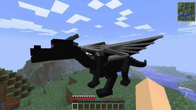Dragon Mounts MCPE MOD screenshot 3