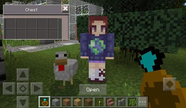 Girlfriends MCPE Addon apk screenshot