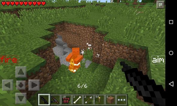 Guns MCPE MOD screenshot 1