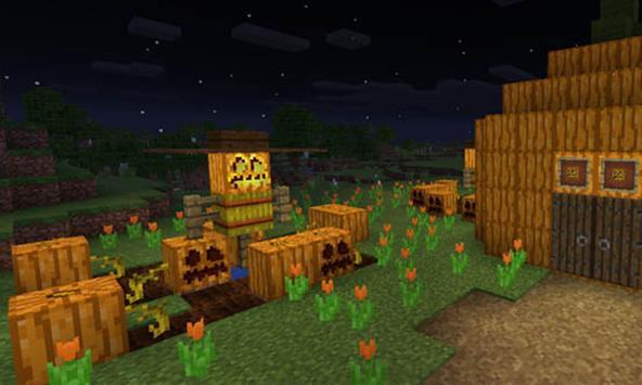 Halloween Pumpkin Challenge MCPE MOD apk screenshot