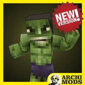 Green Monster MCPE Addon (New!) icon