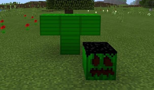 Green Monster MCPE Addon (New!) apk screenshot