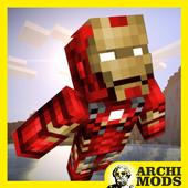 Iron Superman MCPE MOD icon