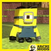 Minions Army MCPE Addon icon
