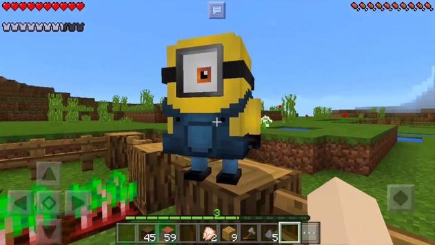 Minions Army MCPE Addon screenshot 1