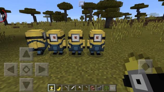 Minions Army MCPE Addon screenshot 2