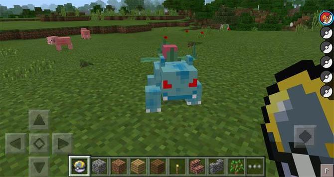 Pixelmonsters MCPE MOD screenshot 3