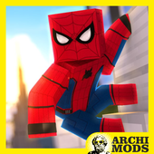 Red Spider MCPE MOD icon