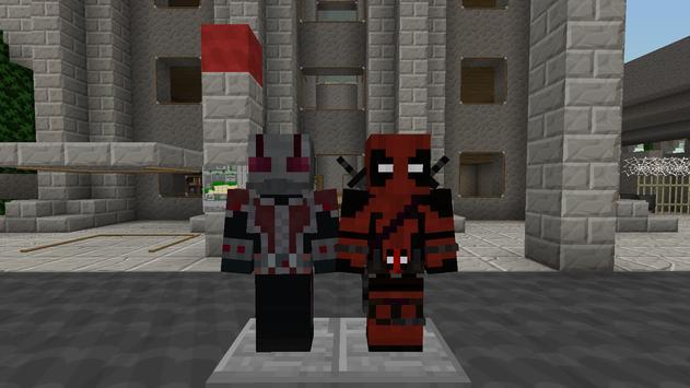 Super Heroes MCPE MOD screenshot 3