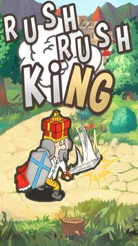 Rush Rush King -Idle RPG- poster