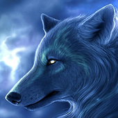 arctic wolf wallpaper icon