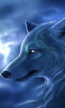 arctic wolf wallpaper poster