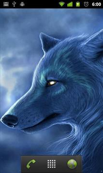 arctic wolf wallpaper apk screenshot
