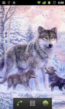 arctic wolf wallpapers apk screenshot