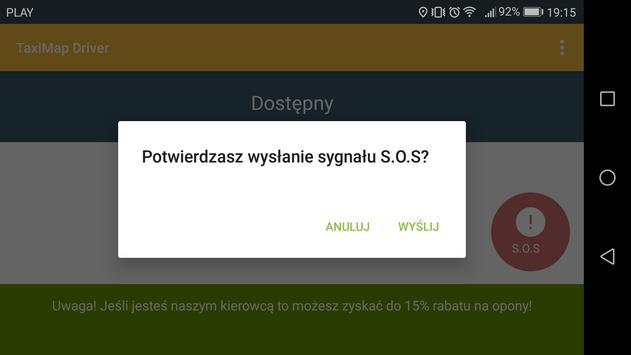 TaxiMap.pl Driver screenshot 9