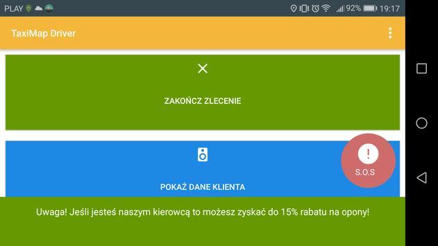 TaxiMap.pl Driver screenshot 10