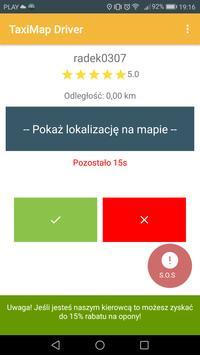 TaxiMap.pl Driver screenshot 1