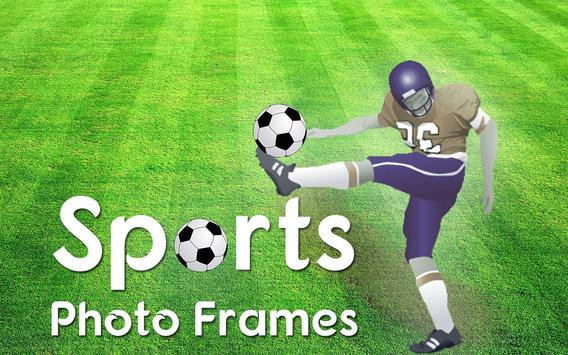 sports photo frames apk screenshot