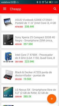 Cheapp: deals and bargains apk screenshot
