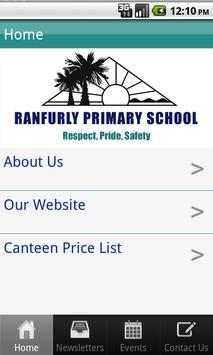 Ranfurly Primary School poster