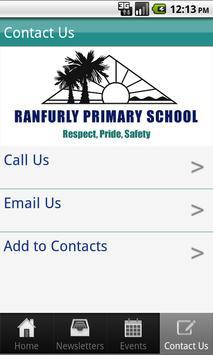 Ranfurly Primary School apk screenshot