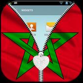 Morocco Flag Lock Screen icon