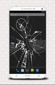 خدعة الشاشة المكسورة - prank screenshot 2