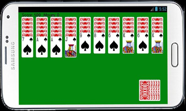 Spider Solitaire Card Game HD poster