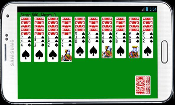 Spider Solitaire Card Game HD apk screenshot